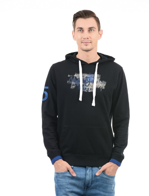 Pepe Jeans Full Sleeve Graphic Print Mens Sweatshirt