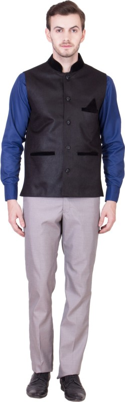 Akaas Sleeveless Solid Mens Jacket