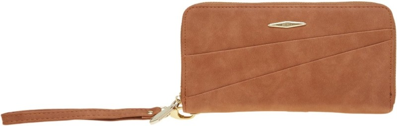 Esbeda Women Tan Artificial Leather Wallet(13 Card Slots)