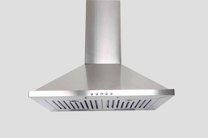 GLEN Cooker hood 6075 SS 60cm 1000m3 BF LTW Wall Mounted Chimney(Glen 1000 CMH)