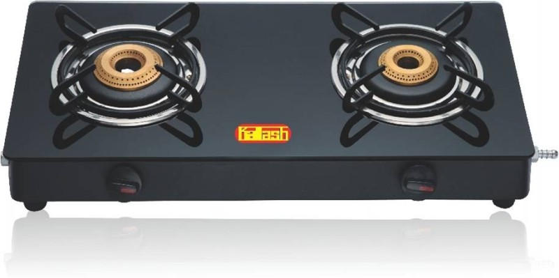Kailash GT 2B Trendy Steel Manual Gas Stove(2 Burners)