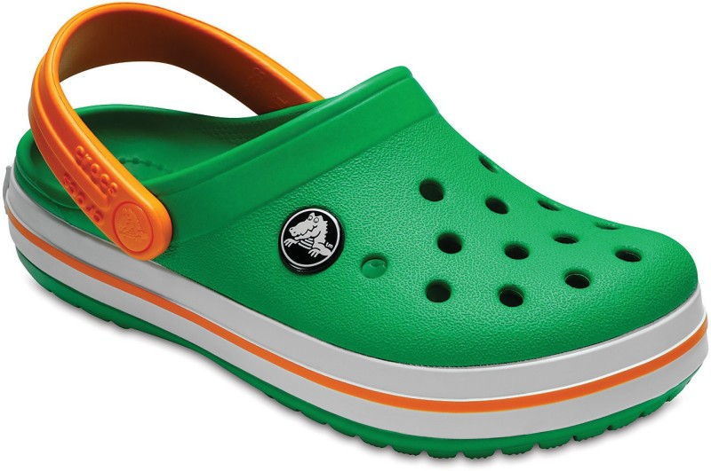 Crocs Boys Slip-on Clogs(Green)