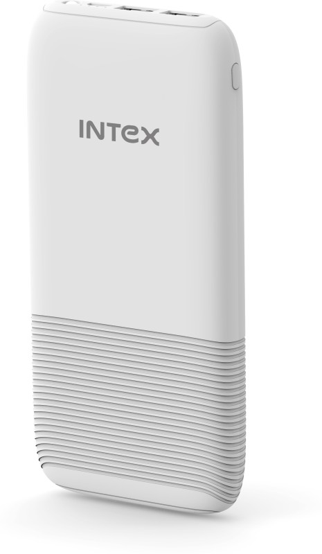 Intex 12000 mAh Power Bank (Power Bank, IT-PB12K Poly)(White, Lithium Polymer)