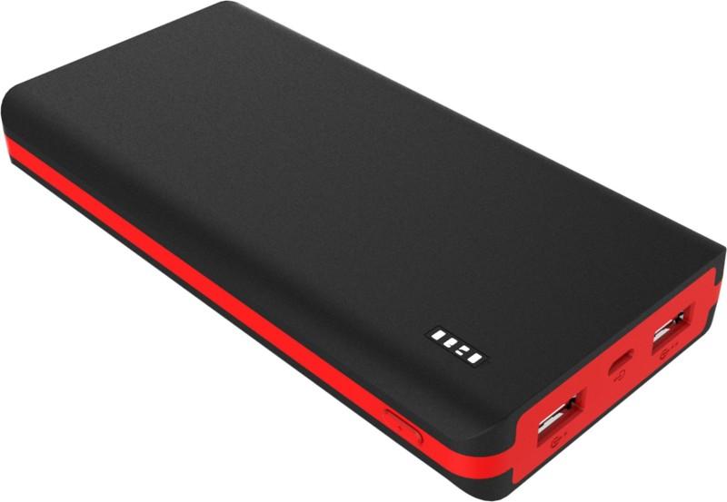 Syska 20000 mAh Power Bank (Power, Juice)(Black Red, Lithium Polymer)