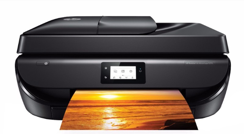 HP DeskJet Ink Advantage 5275 Multi-function Wireless Printer(Black) image