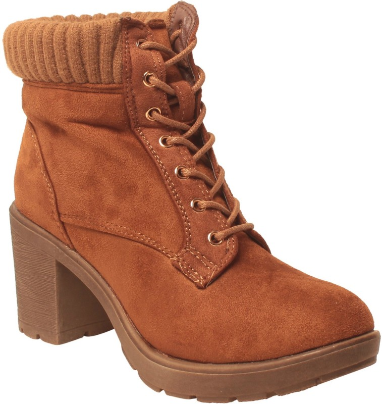 MSC Boots For Women(Tan)