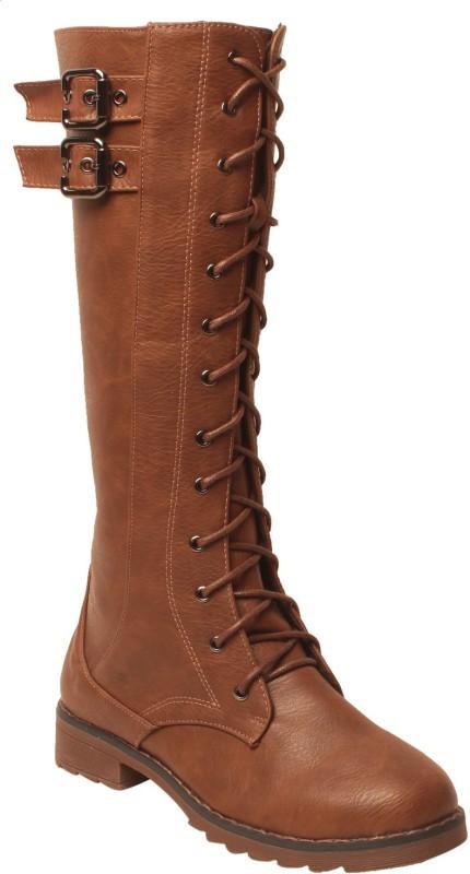 MSC Boots For Women(Tan)