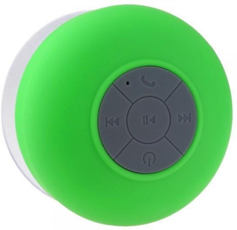 Koloredge Waterproof Shower 3 W Portable Bluetooth Speaker(Green, 2.1 Channel)