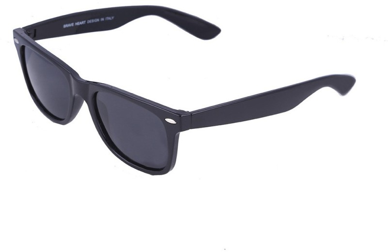 Go India Store Wayfarer Sunglasses(Black) image