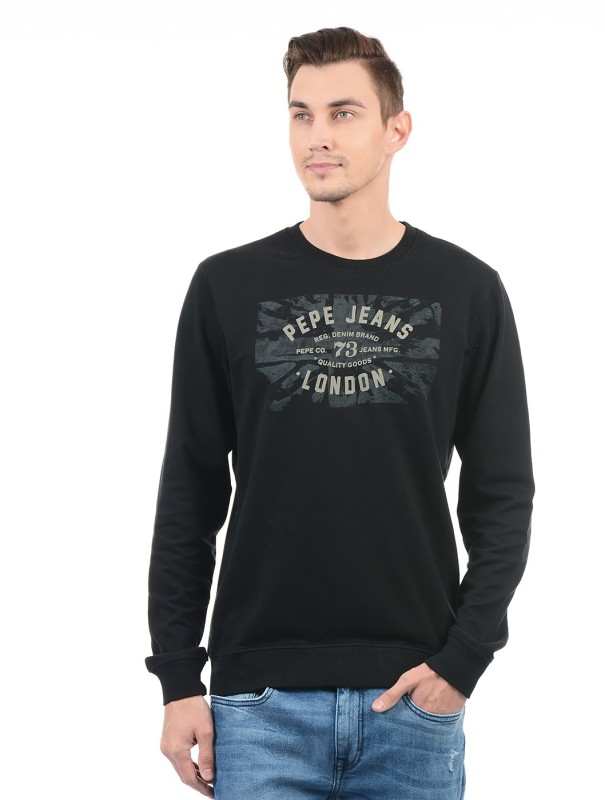 Pepe Jeans Full Sleeve Printed Mens Sweatshirt