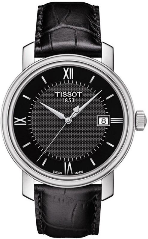 Tissot pr кварц t корпус из нержавеющей стали коричневый кожаный ремешок кварцевый калибр g день недели день недели.