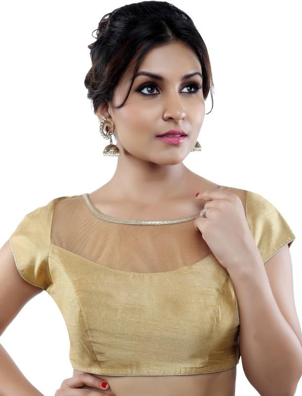 Studio Shringaar Round Neck Women Stitched Blouse