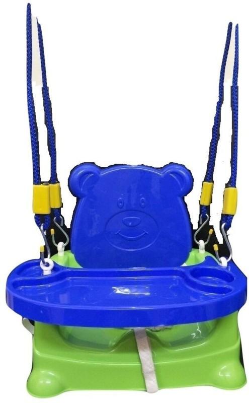 Smilemakers Honeybee 5 in 1 Swing Baby Chair cum Car Seat, Buster Sheet Swings(Green, Blue)