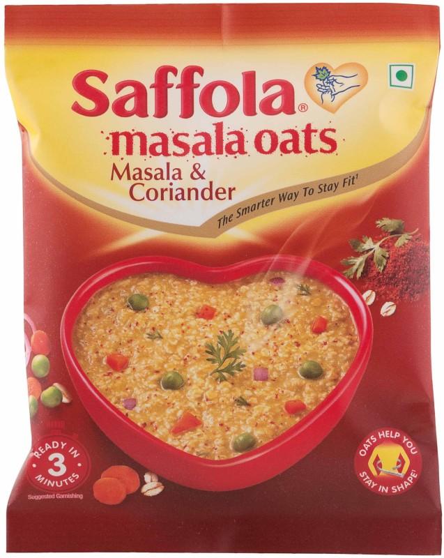 Saffola Oats Masala & Coriander(38 g, Pouch)