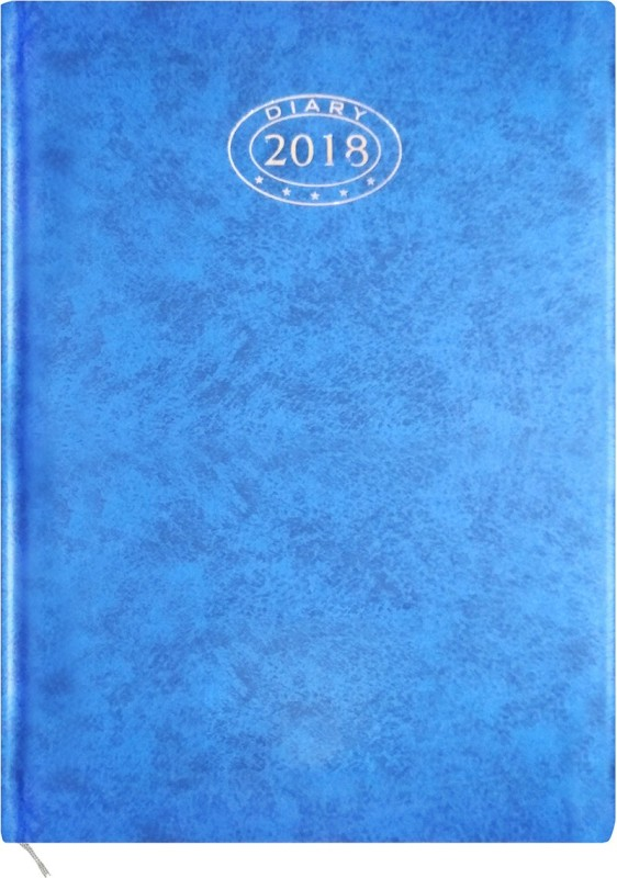 MORE CHOICE A6 Diary(Office Diary 2018, Blue)