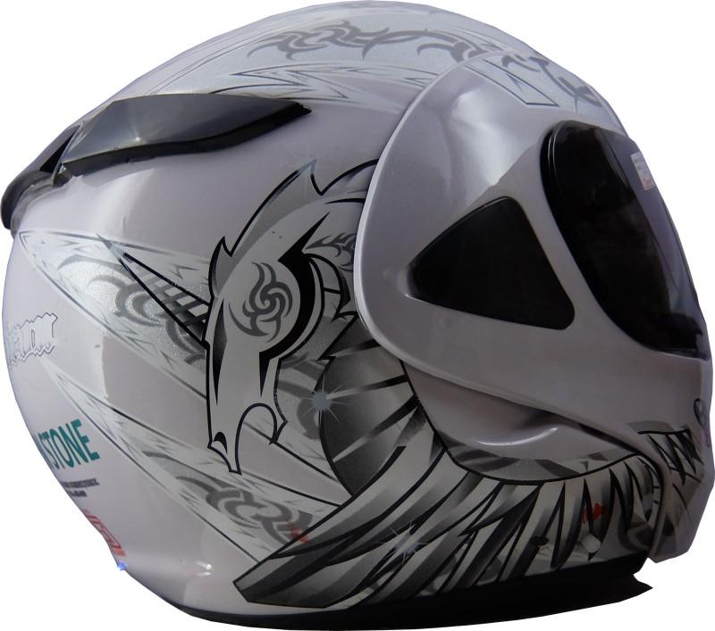 Greenstone HWT-HNBUGY Motorbike Helmet(White)