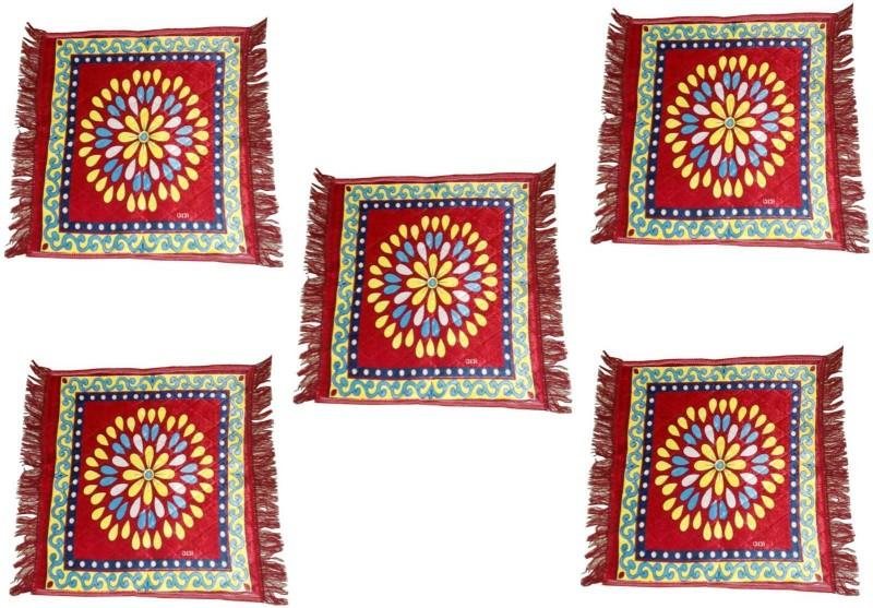 Speed Décor Polyester Prayer Mat(Red, Medium)