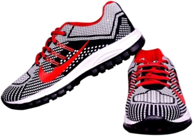 The Scarpa Shoes Teddy Red Running Shoes For Men(Red)