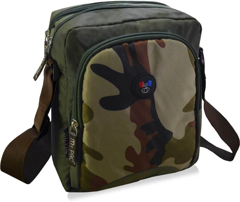 My Pac Db Green Sling Bag