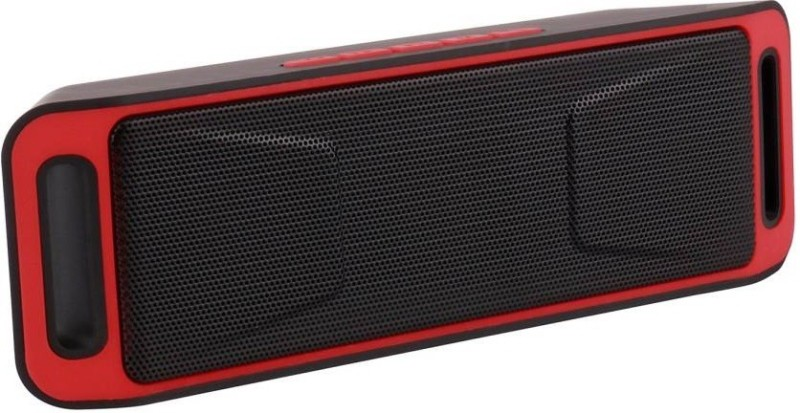 VibeX ™ Portable Wireless Bluetooth Speakers,Stereo Speaker Built-in Mic FM Radio Super Bass Support Micro TF Card/USB Input/AUX Line-In Bluetooth Home Audio Speaker(Black, Red, Mono Channel)