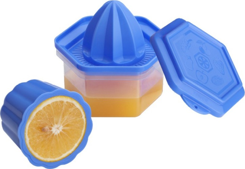 SARANGWARE Orange Juicer (Pack Of 2) (Color May be Very) Plastic Hand Juicer(Multicolor Pack of 2)