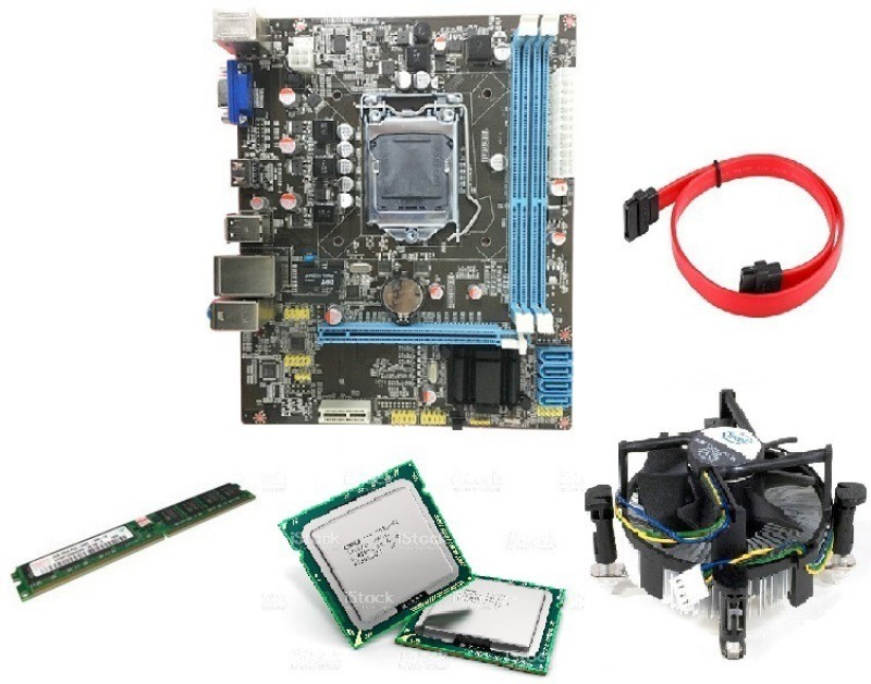 ZOONIS KIT WITH Intel Core i5-650 Processor, 4GB RAM, H-55 Motherboard