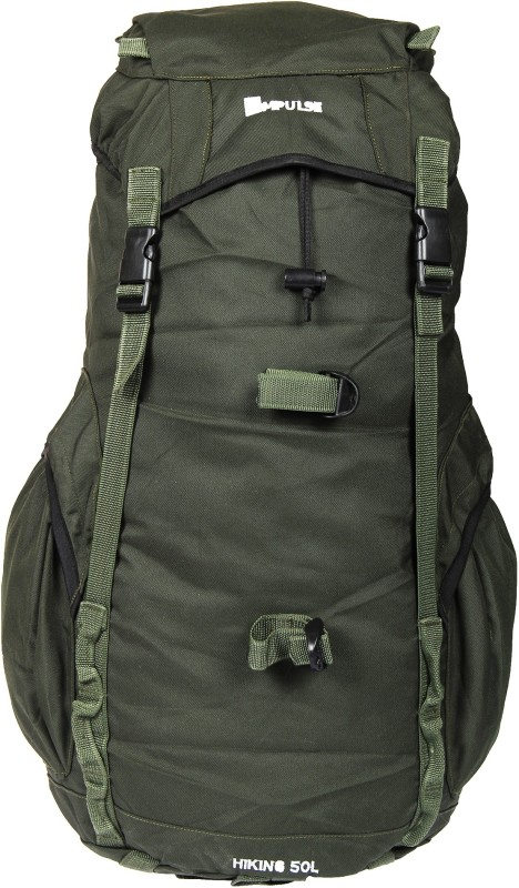 Impulse Junket Green Rucksack - 50 L(Green)