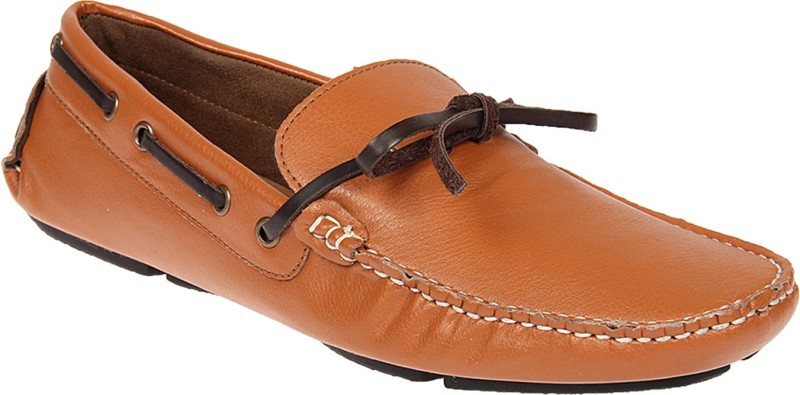 Knotty Derby Loafers For Men(Tan)
