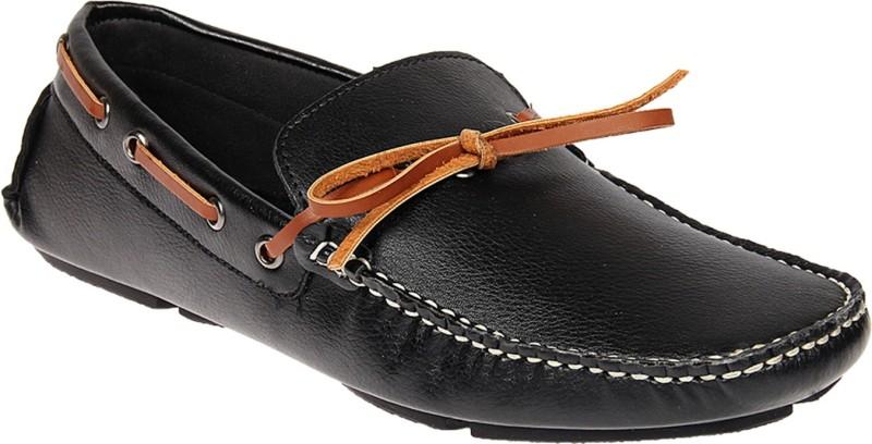 Knotty Derby Riddle Loafer Mocassin For Men(Black)