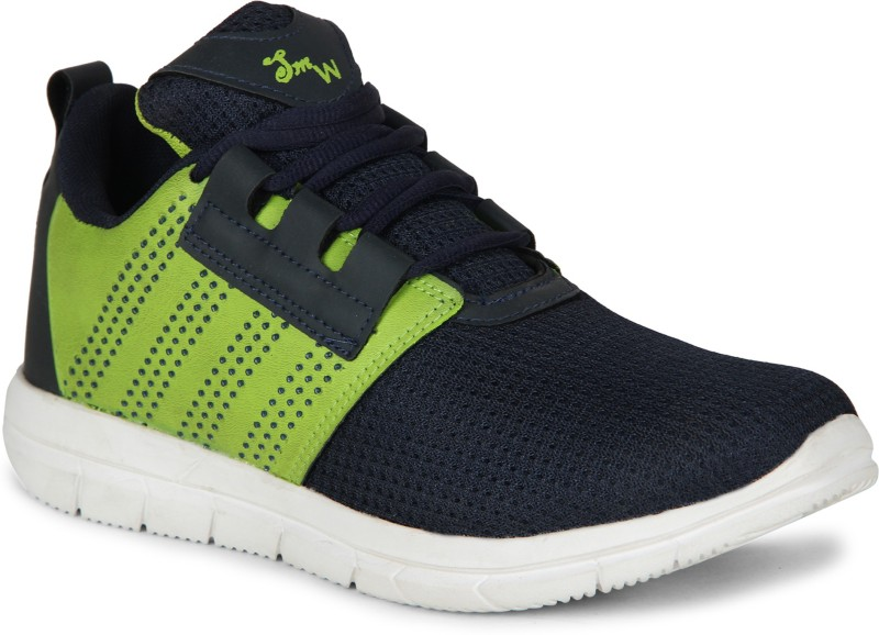 Smartwood Running Shoes ,Walking Shoes ,Hiking And Trekking Shoes ,Cricket Shoes , Walking Shoes, Training & Gym Shoes, Motorsport Shoes, Cycling Shoes for Men And Boys Badminton Shoes For Men(Navy)