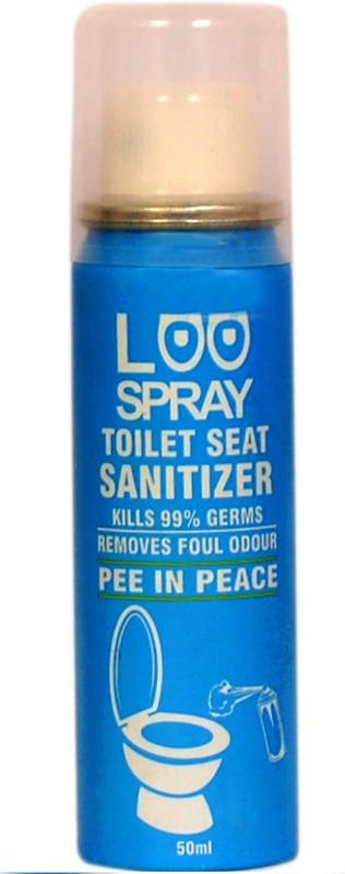 loo spray Toilet Seat Sanitizer Spray can 50ml Lemon Spray Toilet Cleaner(50 ml)