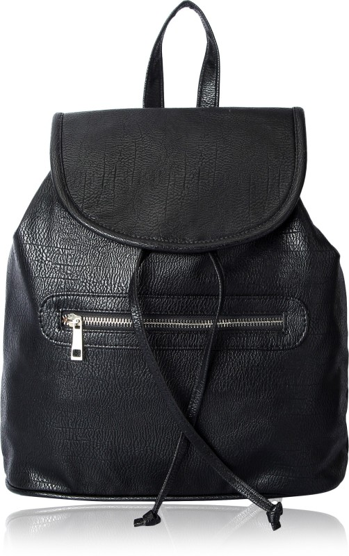 Kleio Travel solid color 3 L Backpack(Black)