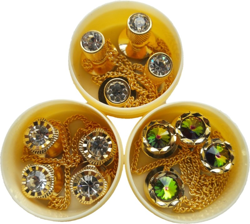TLO jeans Button 00860 Stone, Brass Buttons(Pack of 12)