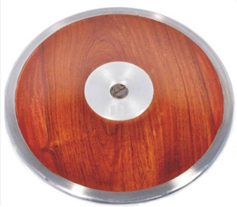 GLS WODDSC542 Brass, Wooden Discus Throw Disc(2 kg)