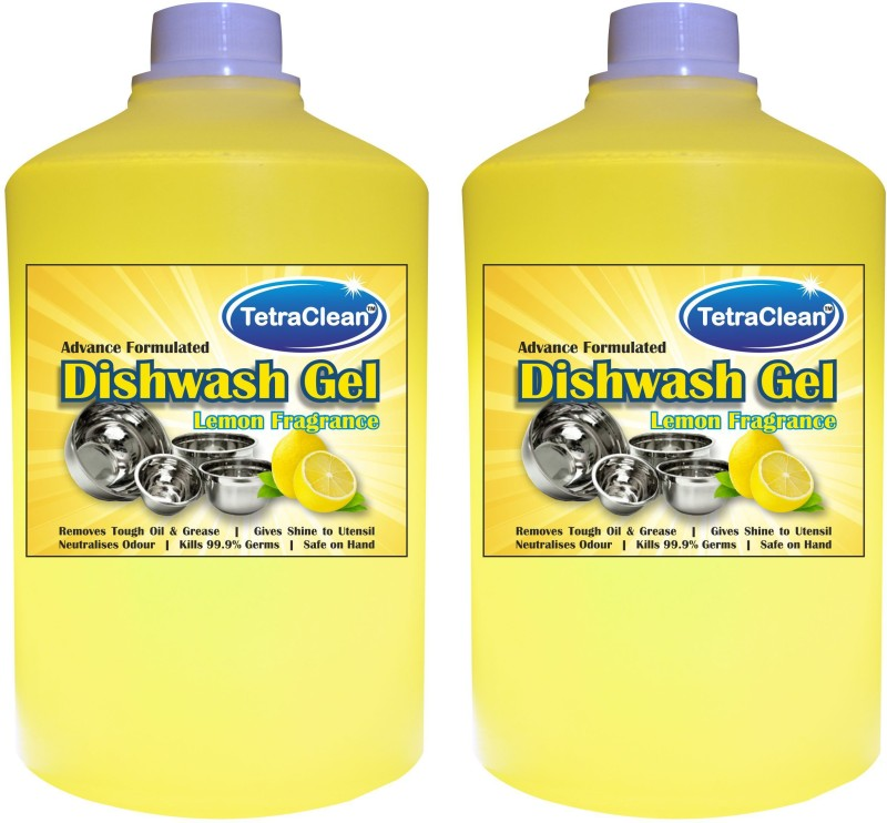 tetraclean Dish Wash Gel Dishwashing Detergent(2 L)