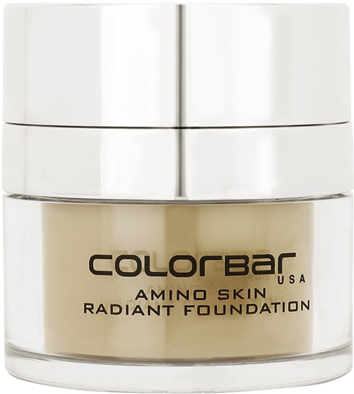 Colorbar Amino Skin Radiant Foundation(Sand Medium-005, 15 g)