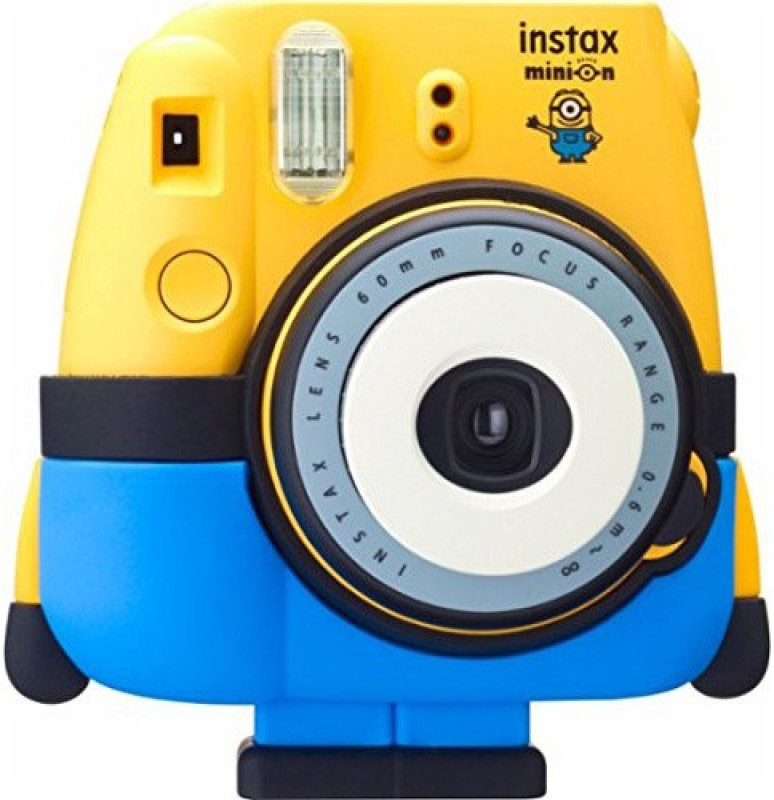 Fujifilm Instax Minion Mini 8 Special Pack Instant Camera(Yellow)