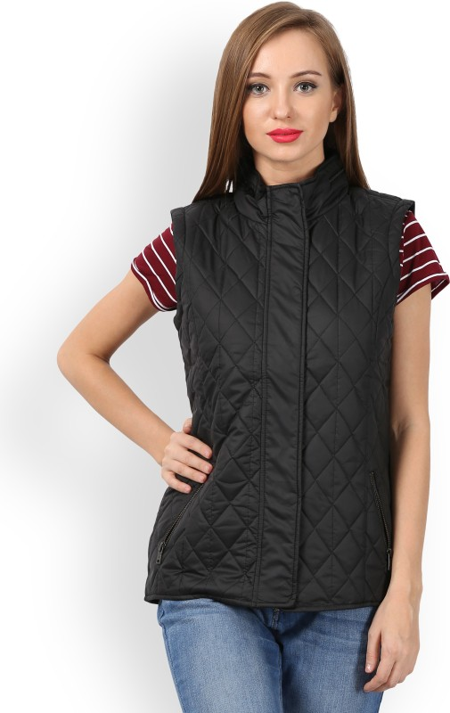 Allen Solly Sleeveless Solid Womens Jacket