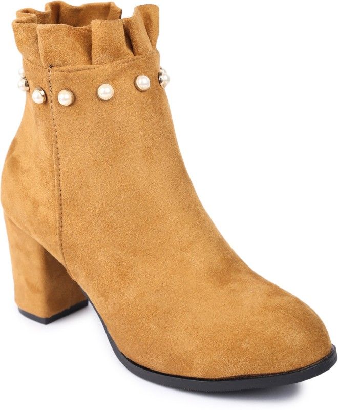 Lovely Chick Boots For Women(Beige)