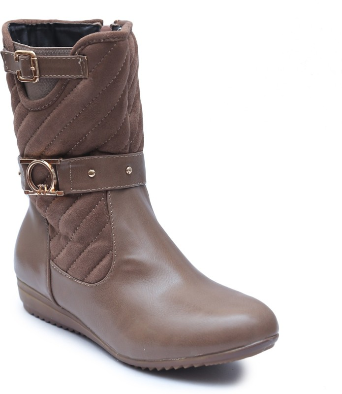 Lovely Chick Boots For Women(Khaki)