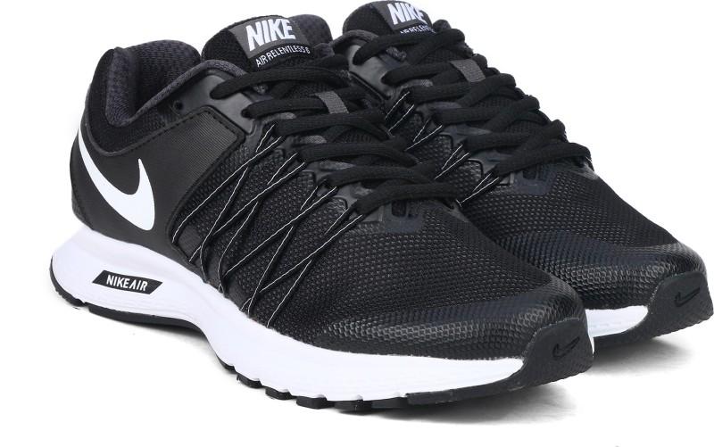 Nike NIKE AIR RELENTLESS 6 Running Shoes For Women(Black, White)