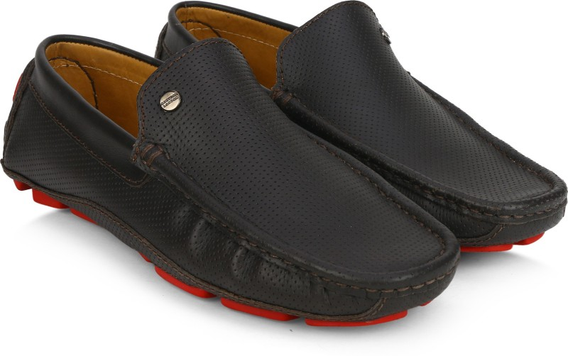 Carlton London CLM-1379 Loafers Slip on For Men(Brown)
