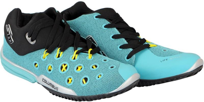 Columbus Mens Running Shoes For Men(Green)