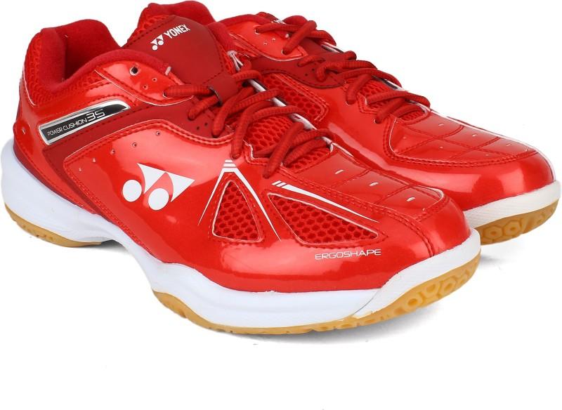 Yonex SRCR65R Badminton Shoes For Men(Red)