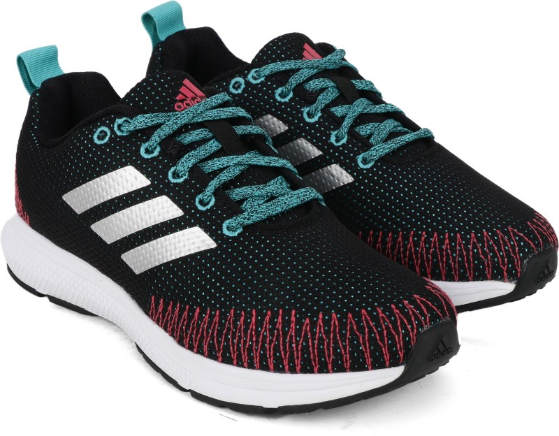 Adidas NAYO 1.0 W Running Shoes For Women(Black, Blue)