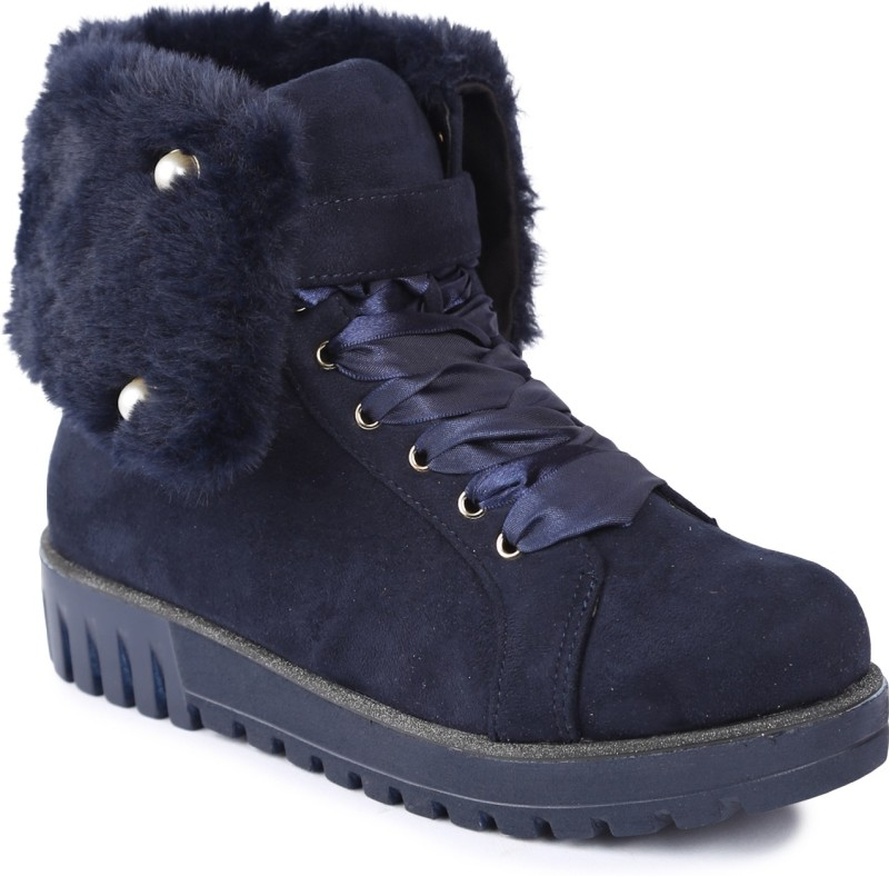 Lovely Chick Boots For Women(Blue)