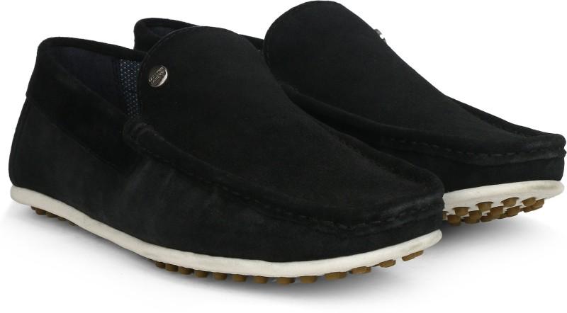 Carlton London CLM-1424 Loafers For Men(Black)