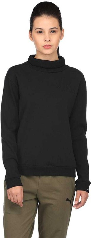 Puma Full Sleeve Solid Women Sweatshirt