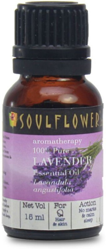 Soulflower Essential Oil Lavender(15 ml)
