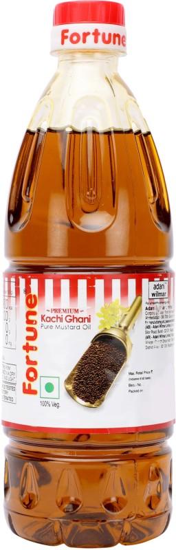 Fortune Kachi Ghani Mustard Oil Plastic Bottle(500 ml)